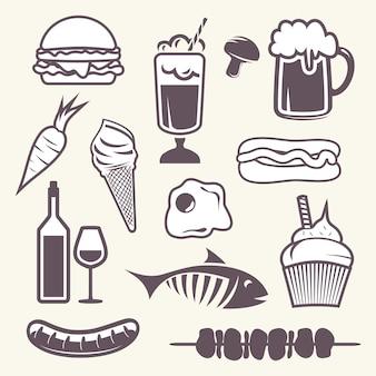 Essen stellen icons