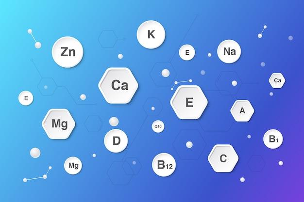 Essentieller vitamin- und mineralkomplex