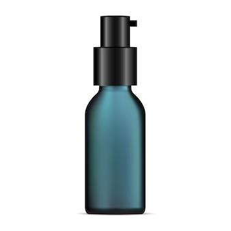 Essenzflasche. kosmetischer produktbehälter. serum
