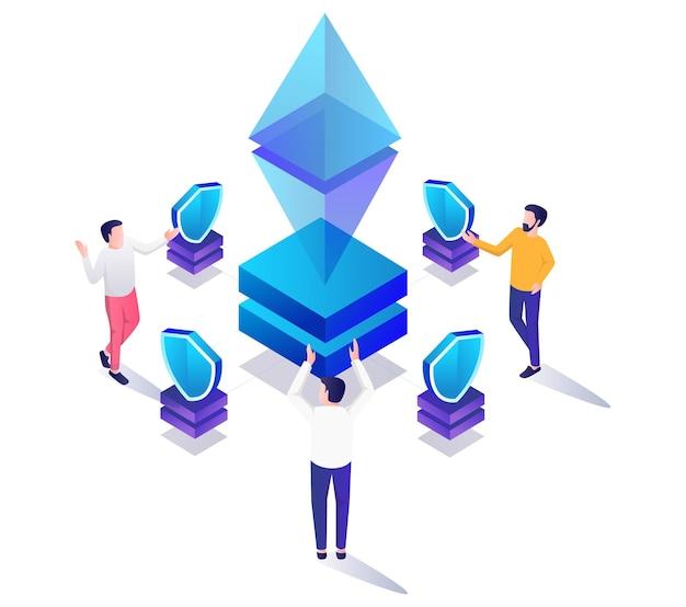 Etherium-investitionssicherheit