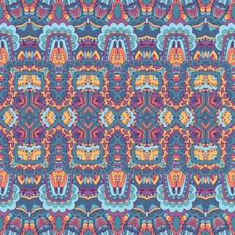 Ethnische gestreifte vektortextur für stofftextilientraditionelle ornamentmotive