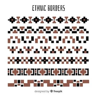 Ethnische grenzsammlung
