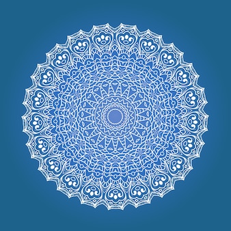 Ethnisches fraktal meditations mandala