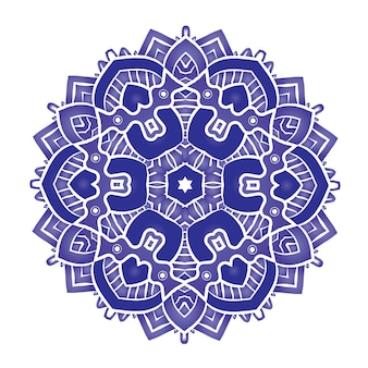 Ethnisches psychedelisches mandala