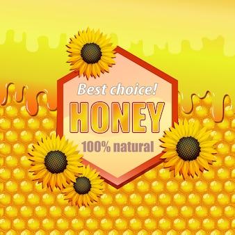 Etikett für honig