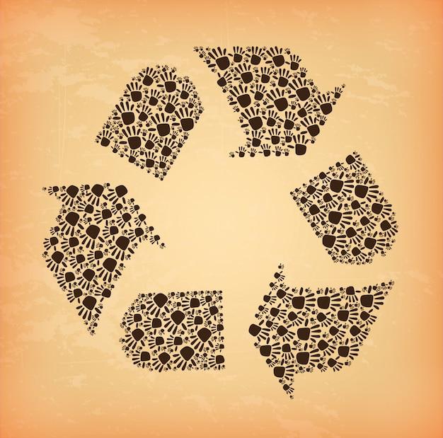 Etikett recyceln
