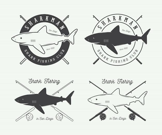 Etiketten zum angeln