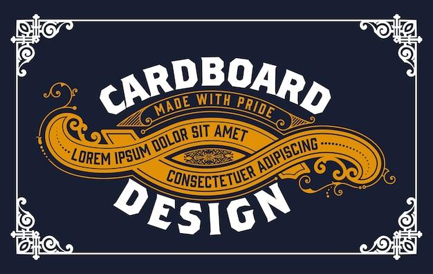 Etikettenvorlagen-design für etiketten