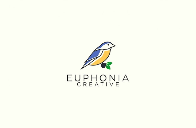 Euphonia umriss-logo
