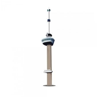 Euromast tower in rotterdam niederlande