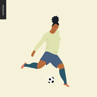 Europäischer fußball, fußballspieler der frauen