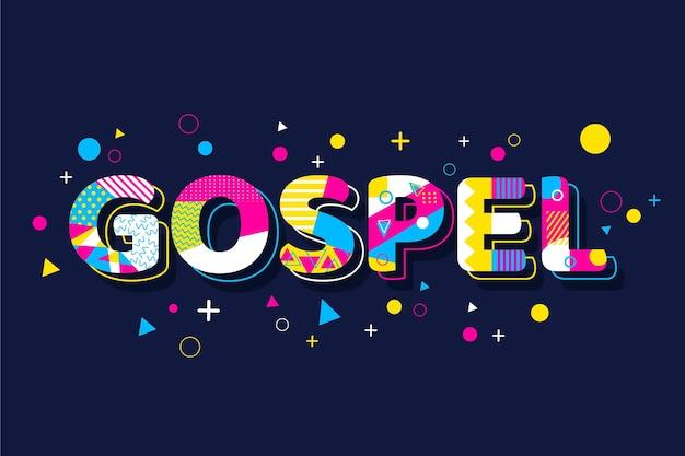 Evangeliumswortkonzept