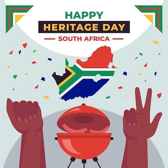 Event-konzept des heritage day