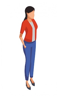 Exectuive geschäftsfrau avatar