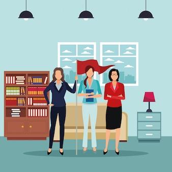 Executive business cartoon