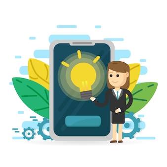 Existenzgründung. startup-technologie-konzept. neues projekt erfolgreich