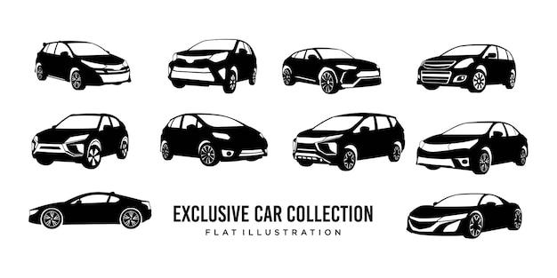 Exklusives logo der autosammlung