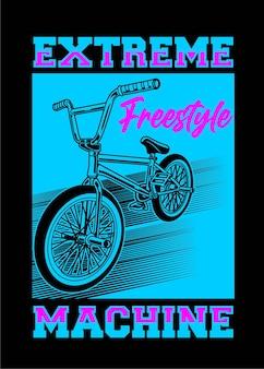 Extreme freestle-maschine