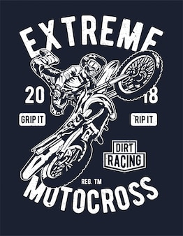 Extremer motocross