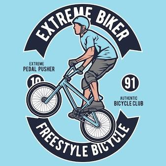 Extremes fahrrad