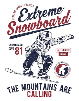 Extremes snowboard