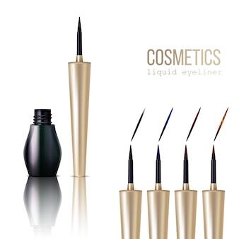 Eyeliner realistic set