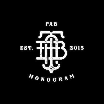 Fab monogramm
