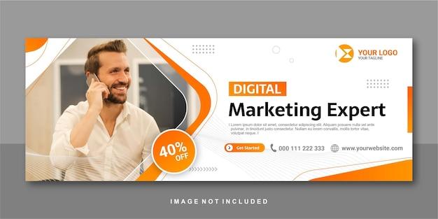 Facebook-banner-design, experte für digitales marketing