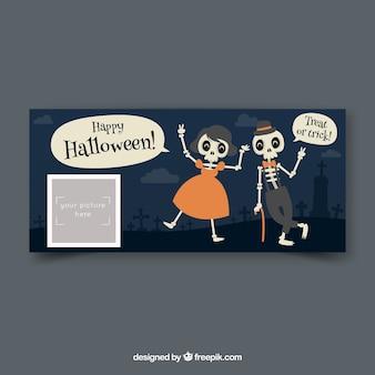 Facebook-banner für halloween