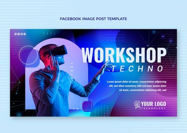 Facebook-beitrag zur gradientenflüssigkeitstechnologie