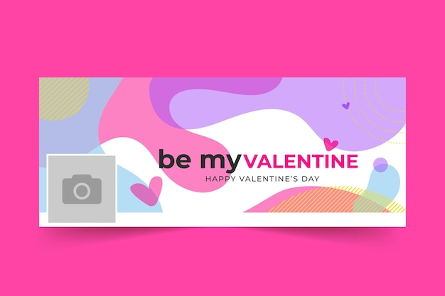 Facebook-cover zum valentinstag