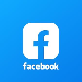 Facebook-hintergrund. facebook-symbol. social-media-symbole. realistische facebook-app-set. logo. vektor. saporischschja, ukraine - 10. mai 2021