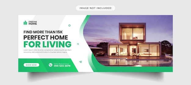 Facebook-timeline-cover-vorlage für immobilien