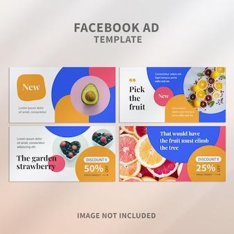 Facebook-werbung für gesunde früchte