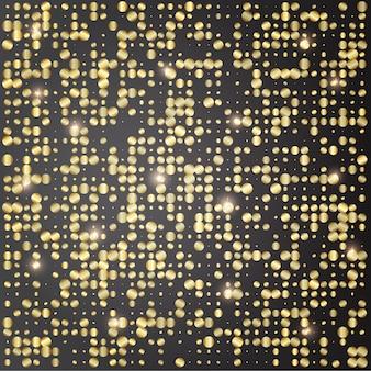 Fahnenhintergrundschablonendesign mit funkeln