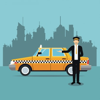 Fahrerhausuniform-service öffentlichkeit