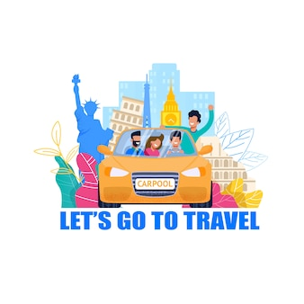 Fahrgemeinschaft für reisen