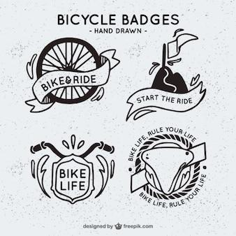 Fahrrad abzeichen