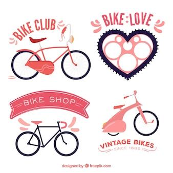 Fahrrad-etiketten
