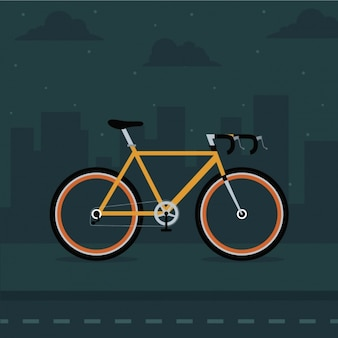 Fahrrad-hintergrund-design