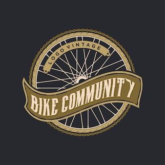 Fahrrad logo vintage