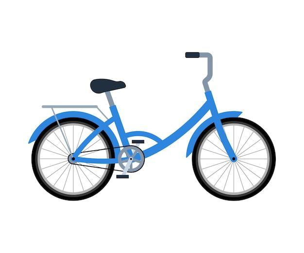 Fahrrad mit gepäckträger transport für die lieferung umweltfreundliches fahrrad