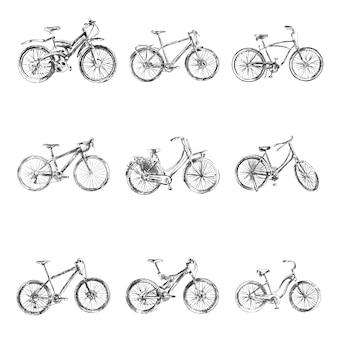 Fahrrad-skizzen