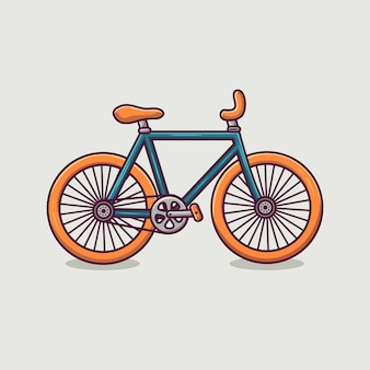 Fahrrad-symbol-cartoon-illustration