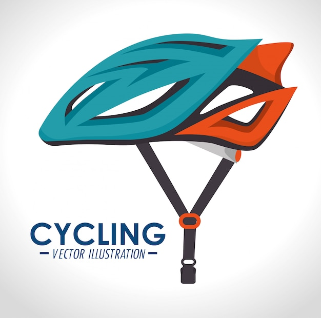Fahrrad und radsport-grafikdesign