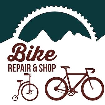 Fahrradreparatur und -laden