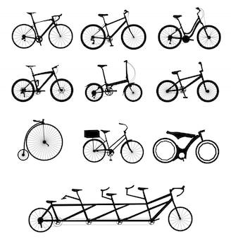 Fahrräder eingestellt