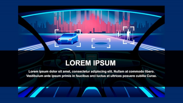Fahrzeug der künstlichen intelligenz