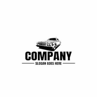 Fahrzeug-logo-vorlage. auto-symbol für unternehmen. miete, reparatur, werkstatt.