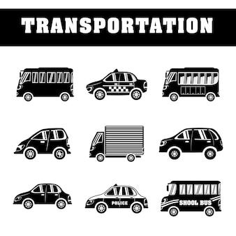 Fahrzeuge und transport Premium Vektoren
